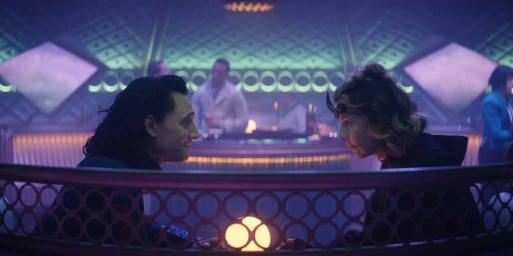 Loki and Sylvie bar