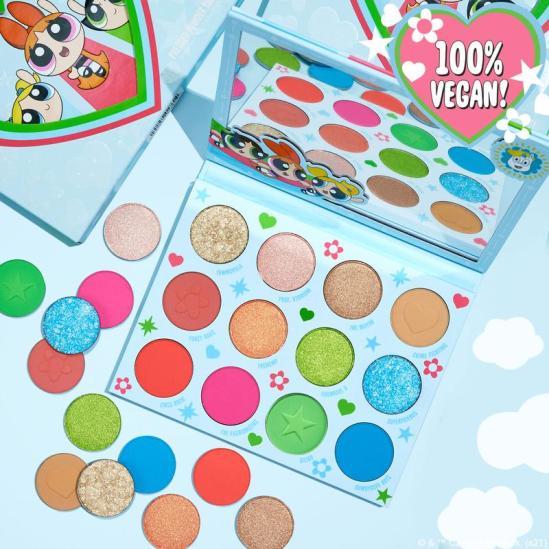 powerpuff girls colourpop collab