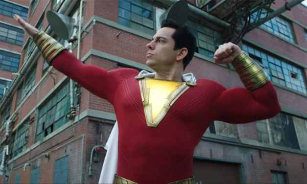 Zachary Levi Spotted on The Run in Damaged Suit On Shazam 2 Set