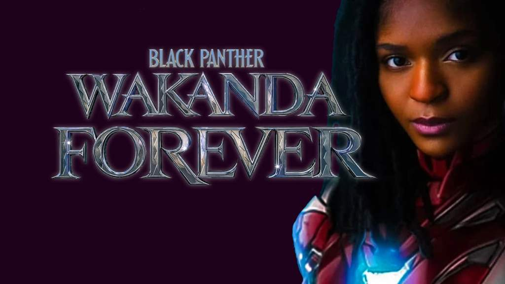 Black Panther 2 Black Panther Wakanda Forever Riri Williams Ironheart Dominique Thorne