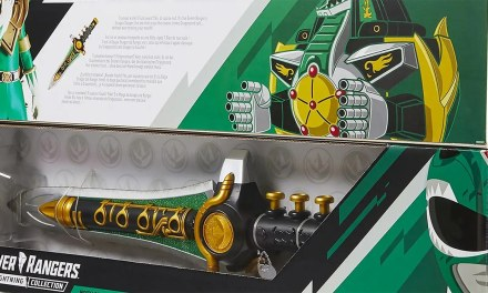 Power Rangers Dragon Dagger Lightning Collection Prop Replica is Back