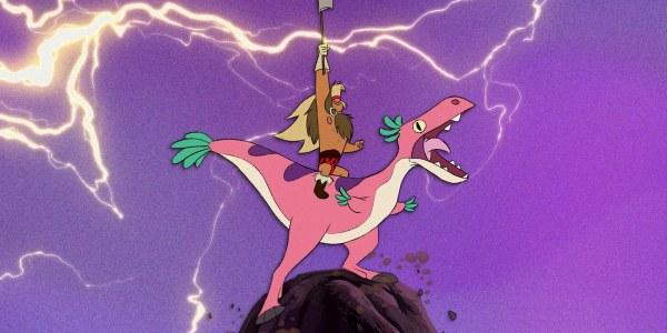 short circuit - dinosaur barbarian