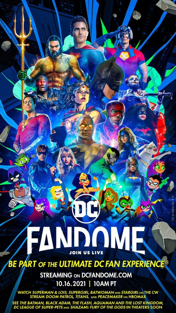 DC Fandome: Check Out The Mind-Blowing New 2021 DC Lineup Reveal And Poster - The Illuminerdi