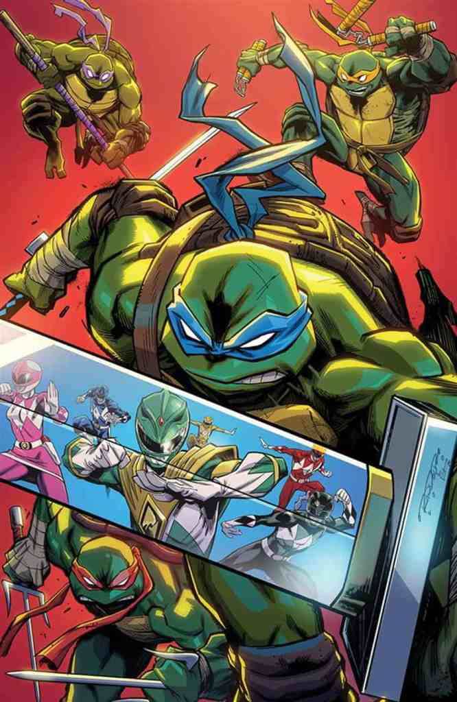 Power Rangers Teenage Mutant Ninja Turtles