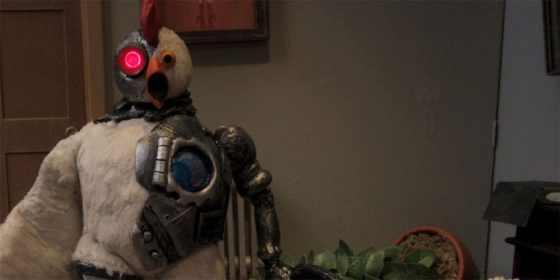 robot chicken - bye