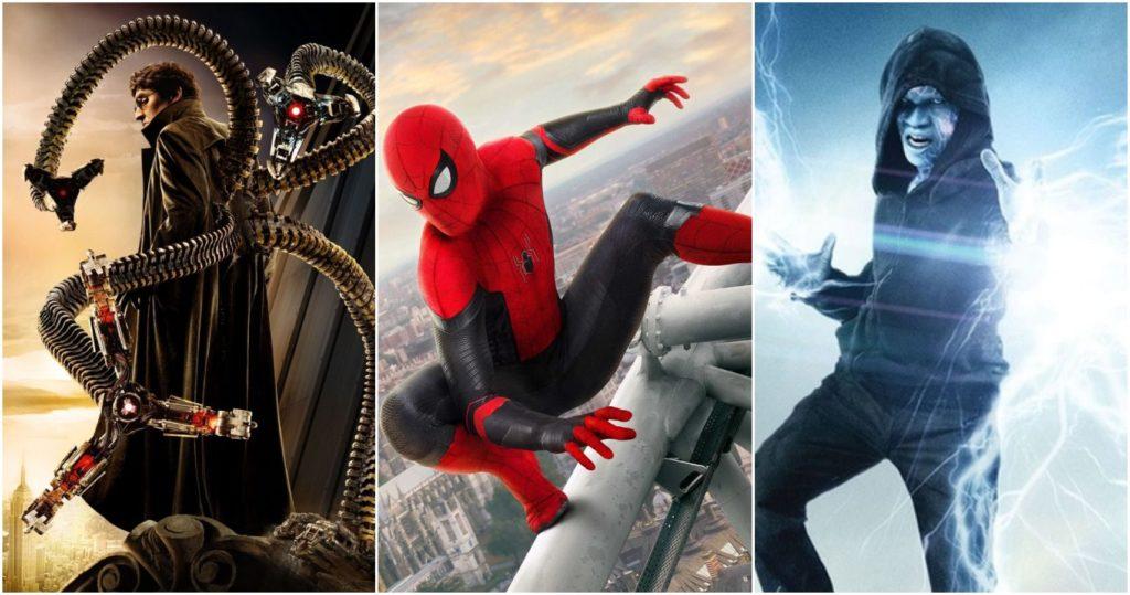 spider-man no way home villains