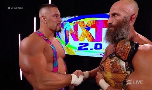 WWE Bron Breakker and Tommaso Ciampa