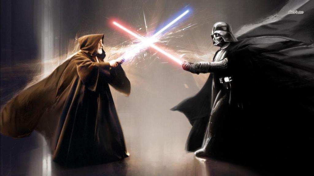 Darth Vader Obi-Wan Kenobi