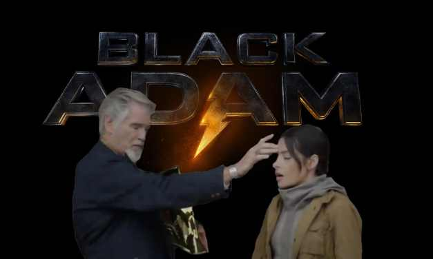 Does The Black Adam DC Fandome Footage Tease Dr. Fate Bestowing The Power Of The Amulet Of Isis Upon Adriana Tomaz?
