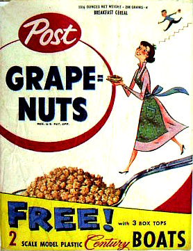 Grape Nuts Box Art
