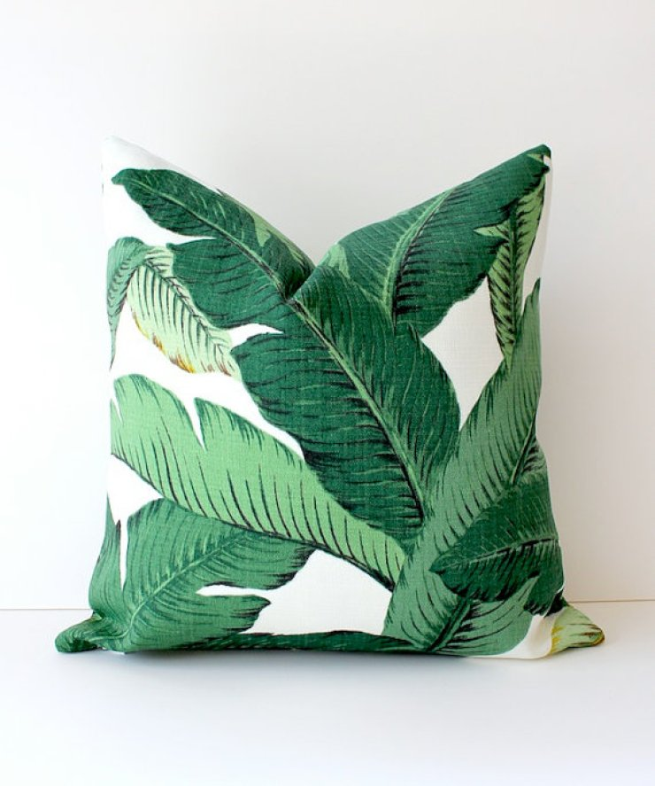 Palm Print Pillow