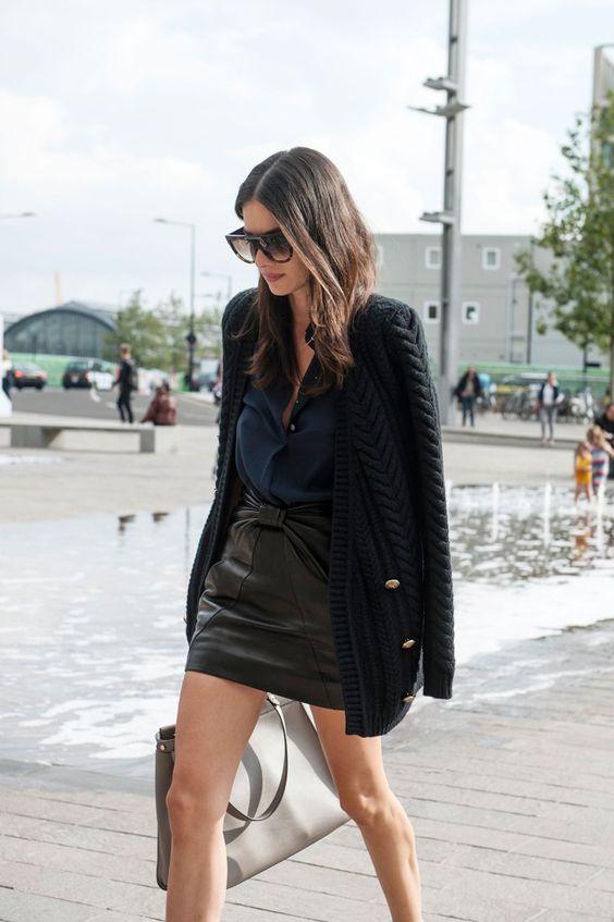 jacket over shoulder