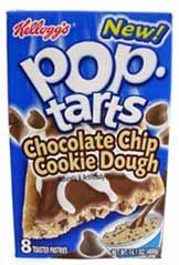 Chocolate Chip Cookie Dough Pop-Tarts