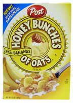 Honey Bunches of Oats with Real Bananas