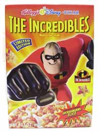 The Incredibles Cereal