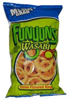 Funyuns With Wasabi