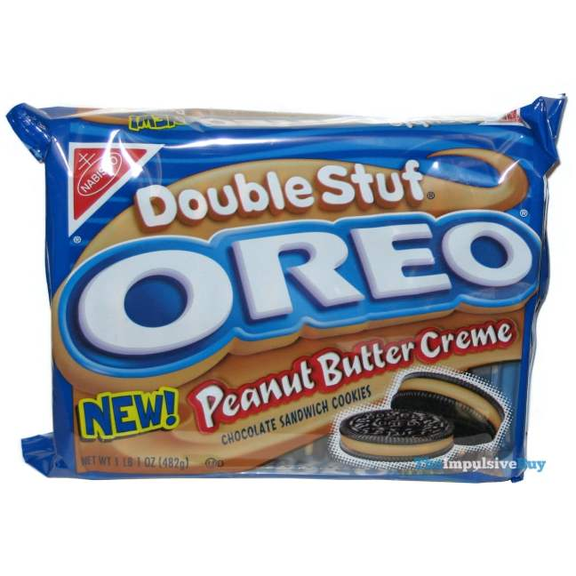 Peanut Butter Creme Double Stuf Oreo