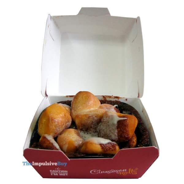 McDonald's Cinnamon Melts