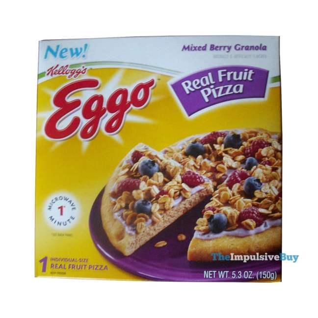 Eggo Real Fruit Pizza Mixed Berry Granola