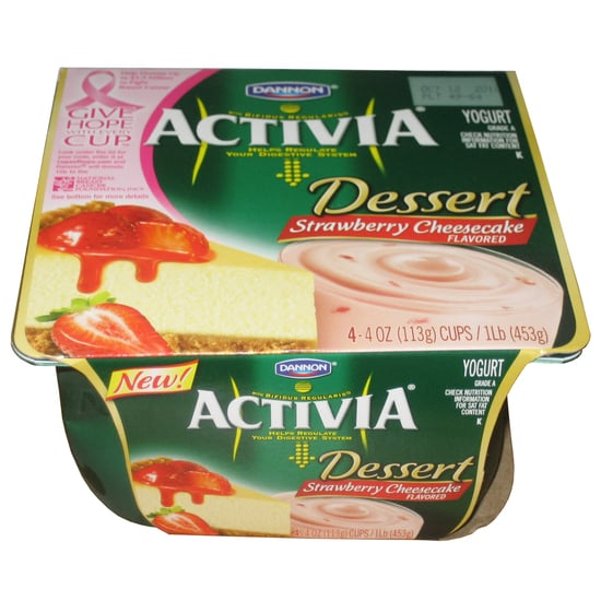 Activia Dessert Strawberry Cheesecake