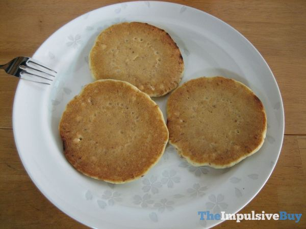 Kellogg's Original Cinnabon Pancakes Naked