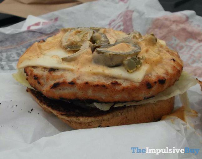 Hardee's Jalapeno Turkey Burger Jalapeno