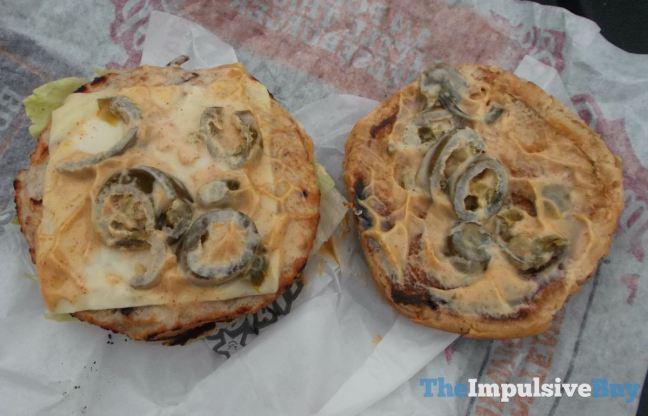 Hardee's Jalapeno Turkey Burger Top
