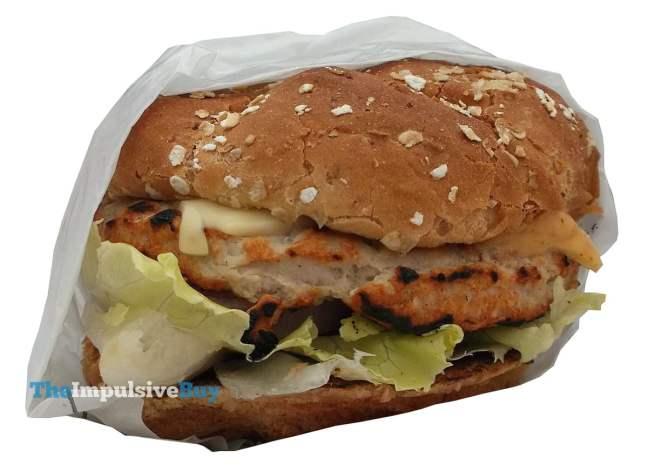 Hardee's Jalapeno Turkey Burger