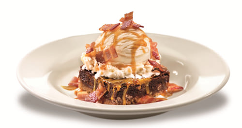 Salted Caramel Brownie Bacon Sundae COMPRESSED