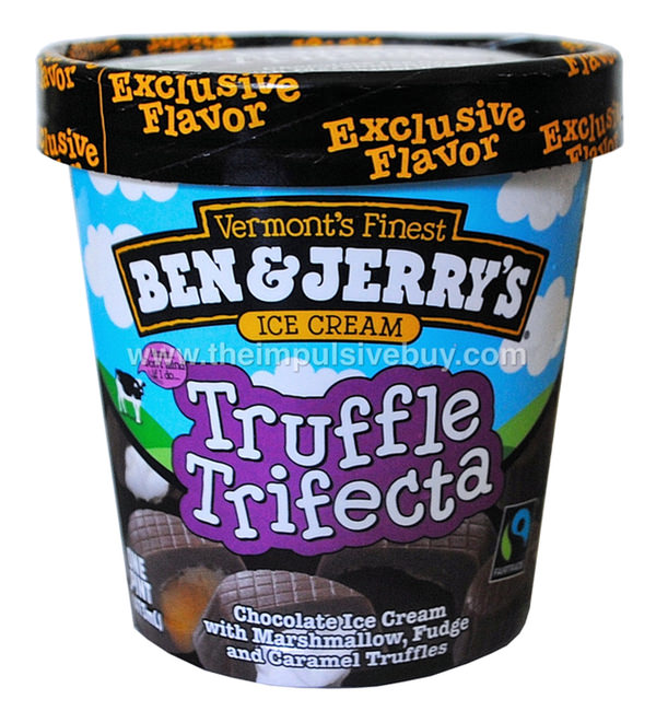 Ben & Jerry's Truffle Trifecta Ice Cream