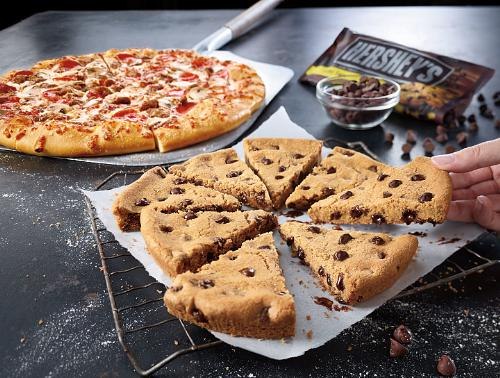 Chocolate chip cookie pizza recipes