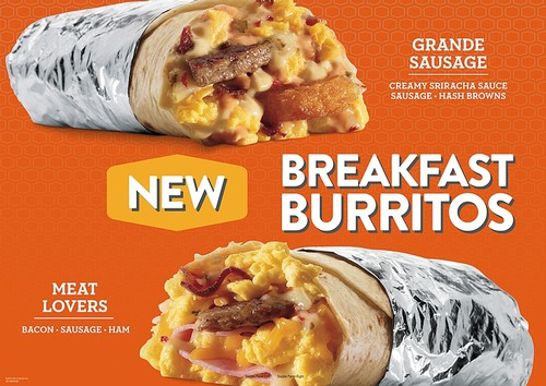Jack in the Box New Breakfast Burritos