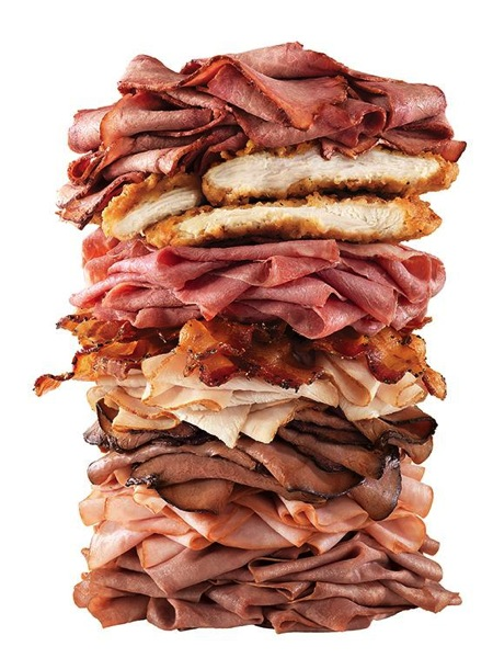 Arbys Meat Mountain