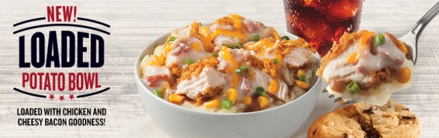 KFC Loaded Potato Bowl