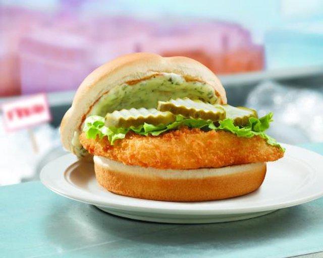 Wendy s North Pacific Cod Sandwich