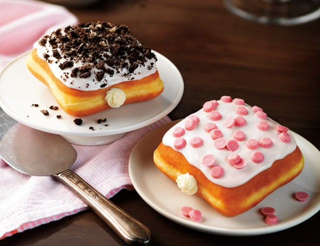 Dunkin Donuts Cheesecake Squares