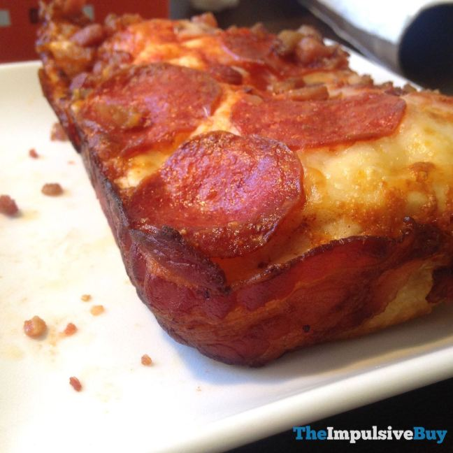 Little Caesars Bacon Wrapped Crust DEEP! DEEP! Dish Pizza Corner