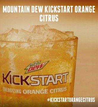 Mountain Dew Kickstart Orange Citrus