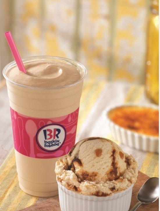 Baskin Robbins Whaddaya Say Creme Brulee Ice Cream