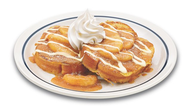 IHOP Caramel Apple Brioche French Toast