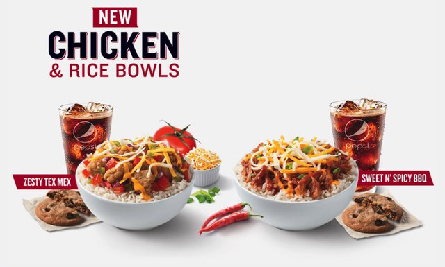 KFC Chicken  Rice Bowls