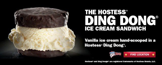 Carl s Jr Hostess Ding Dong Ice Cream Sandwich
