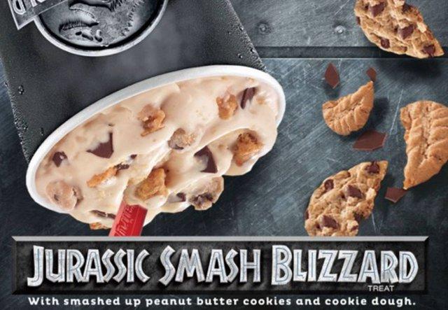Dairy Queen Jurassic Smash Blizzard