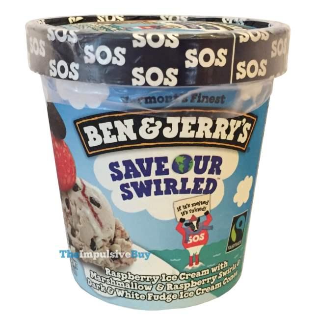 Ben & Jerry's Save Our Swirled Ice Cream