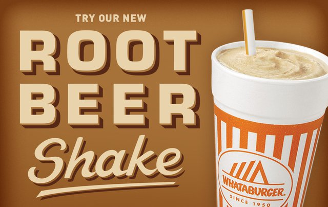 Whataburger Root Beer Shake