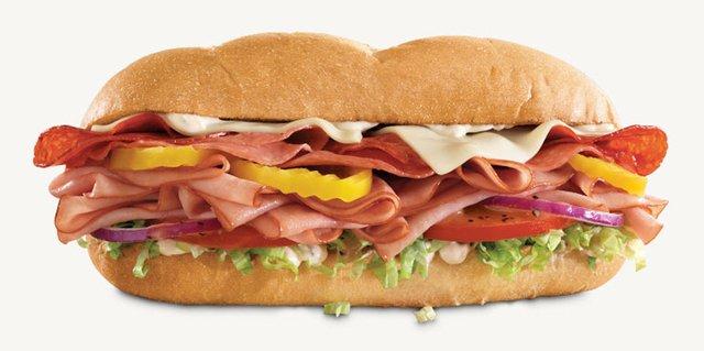 Arby s Loaded Italian Sandwich