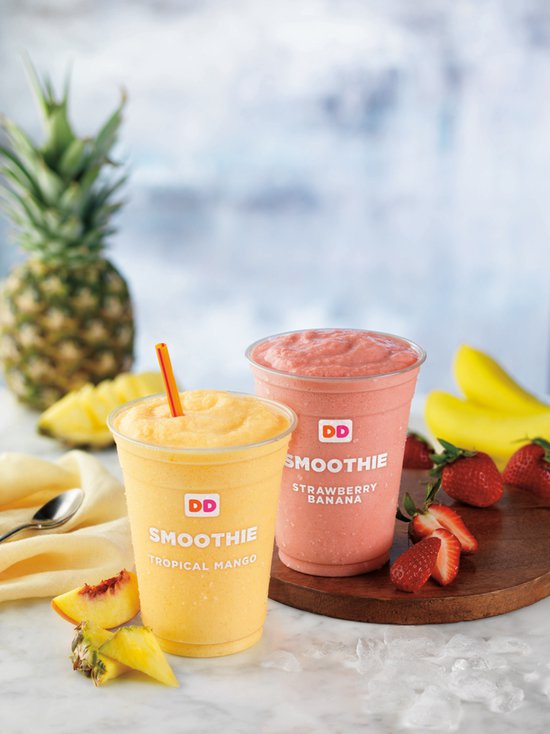 Dunkin Donuts Fruit Smoothies