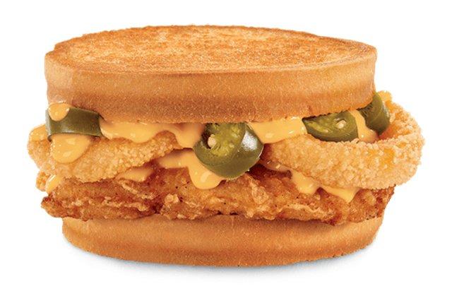 FAST FOOD NEWS Jack In The Box Spicy Nacho Chicken Sandwich Munchie Meal