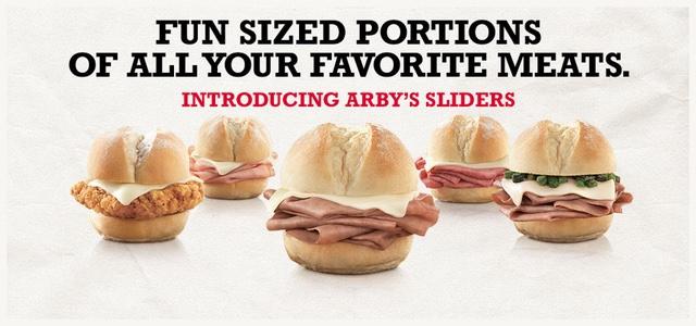 Arby s Sliders