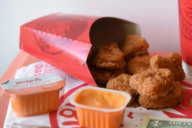 Wendy s Creamy Sriraacha Sauce